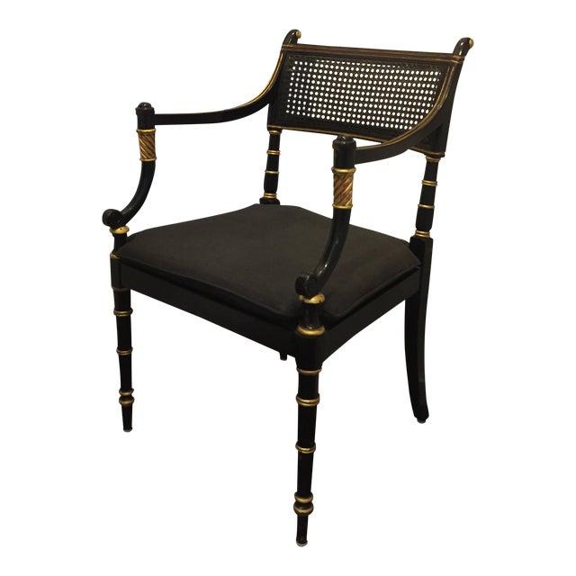 Baker Vintage Regency Style Armchair - Image 1 of 9