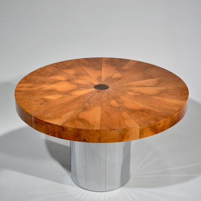 Paul Evans Burl Wood Cityscape Dining Table For Sale In Los Angeles - Image 6 of 11