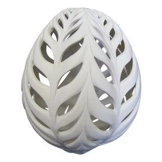 """Little Wheat Egg"" Ceramic Sculpture For Sale"