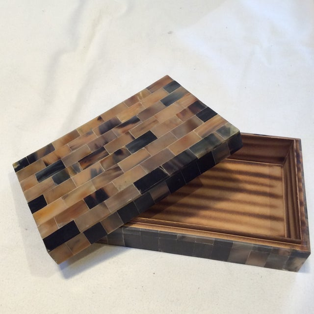 Large Multicolor Horn Box - Image 2 of 6