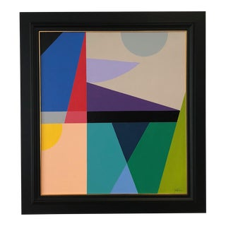 15 Color Modern Abstract Painting by Tony Curry