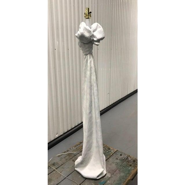 John Dickinson Style Plaster Floor Lamp For Sale - Image 11 of 12