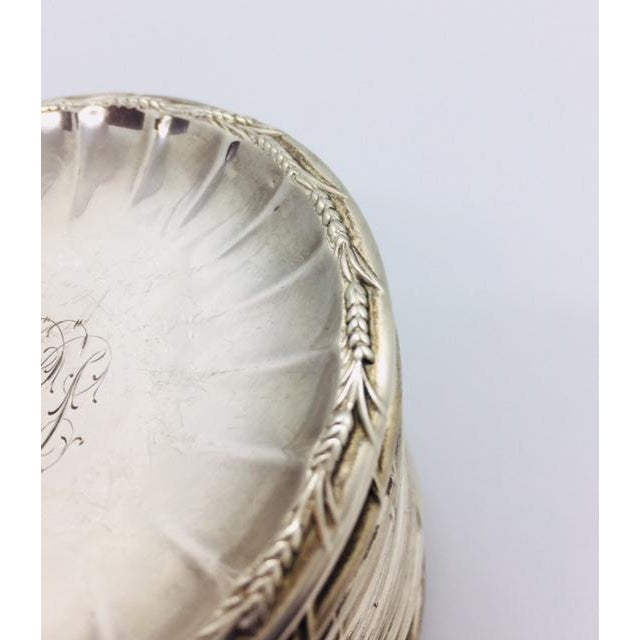 Late 19th Century Late 19th Century Gorham Sterling Butter Pats Coasters- Set of 12 For Sale - Image 5 of 11
