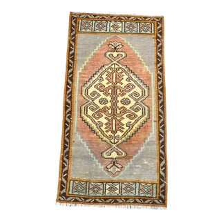 1960s Vintage Anatolian Wool Rug For Sale