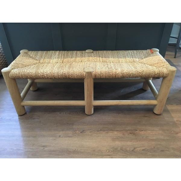 Ralph Lauren Home Driftwood Rush Bench - Image 2 of 7