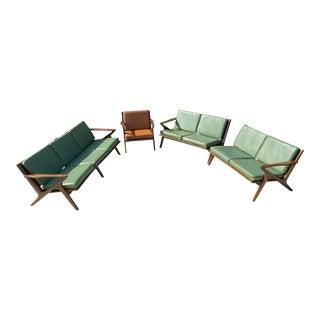 Mid Century Bassett Z Set - 4 Pieces For Sale