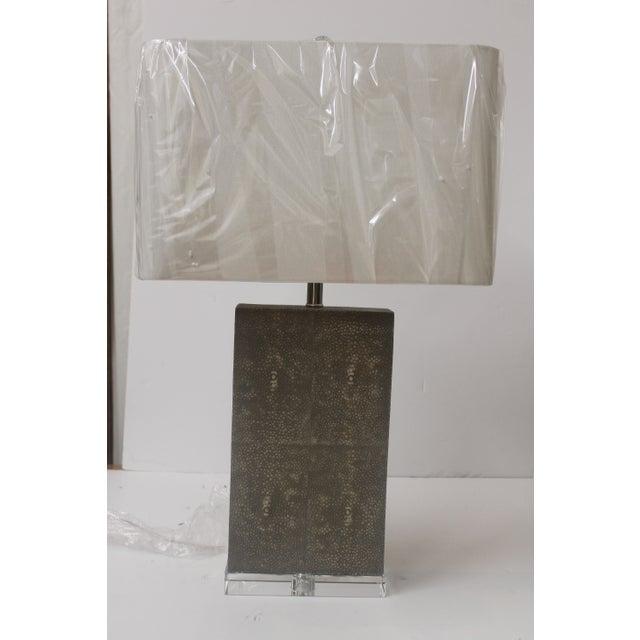 Shagreen Column Lamp - Image 2 of 6