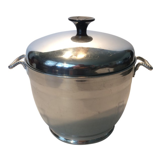 Mid-Century Modern Insulated Ice Bucket For Sale
