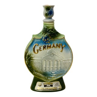 Vintage 1973 Jim Beam Weisbaden, Germany Collector's Bourbon Decanter For Sale