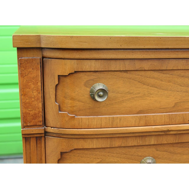 Brown Mid-Century Walnut Dresser For Sale - Image 8 of 9