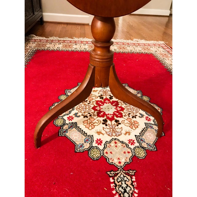 Wood 19th Century Shaker Tea Table For Sale - Image 7 of 11