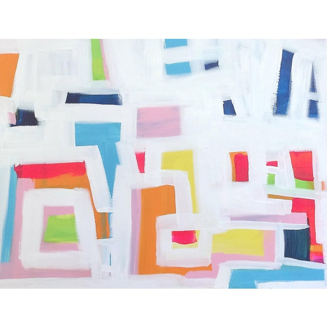 'P-TOWN FUNK' Original Abstract Painting - Image 4 of 8