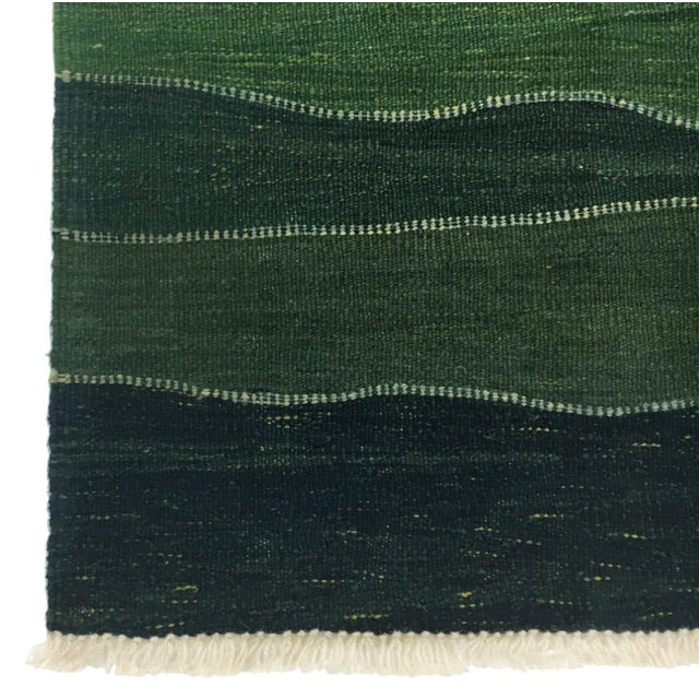 Rug & Relic, Inc. Rug & Relic Emerald Yeni Kilim Runner | 2'8 X 9'8 For Sale - Image 4 of 5