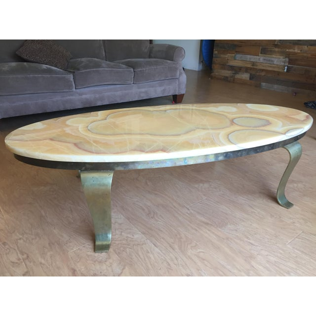 Alabaster Coffee Table - Image 2 of 6