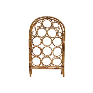 Bentwood Bamboo Wine Rack For Sale