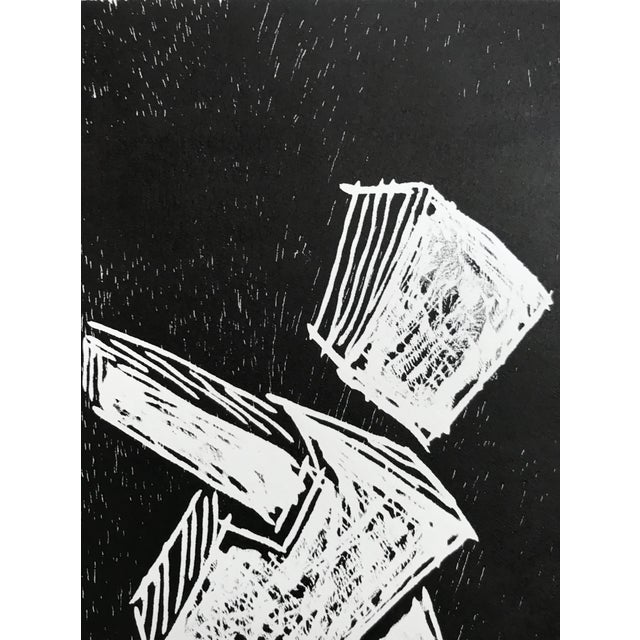 Pablo Pino Hombre Povera Linocut Print For Sale In Palm Springs - Image 6 of 8