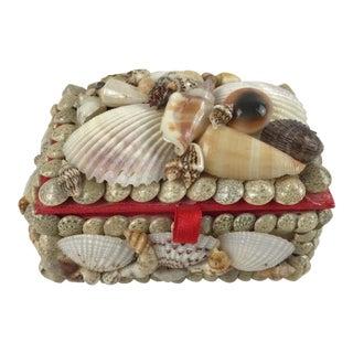 Seashell Trinket Jewelry Box