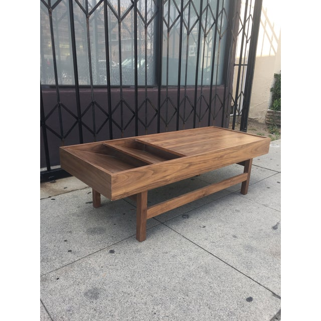 """Custom Handcrafted """"Rosa"""" Coffee Table For Sale - Image 4 of 13"""