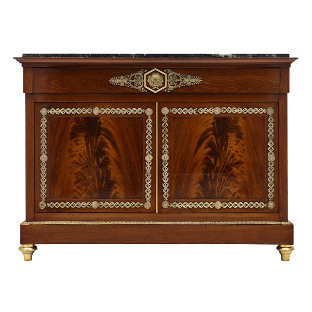 Antique French Directoire Buffet For Sale - Image 10 of 10