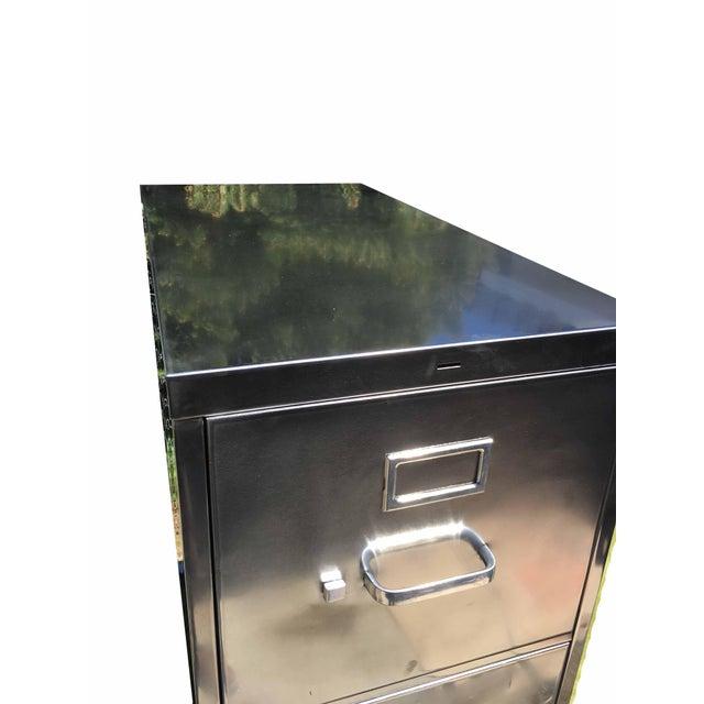 Vintage Steel File Cabinet - Image 5 of 5