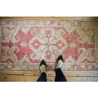 """Vintage Distressed Oushak Rug Runner - 2'8"""" X 5'7"""" Preview"""