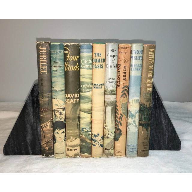 Vintage Books with Decorative Covers - Set of 9 - Image 2 of 4
