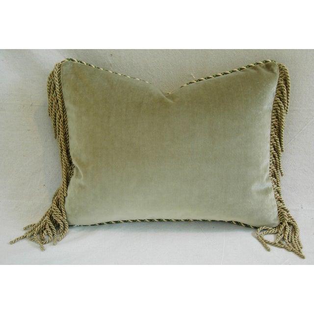 Designer Brunschwig & Fils Bird & Thistle Pillow - Image 6 of 6