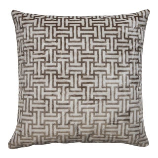"""Piper Collection """"Buckle"""" Pillow For Sale"""