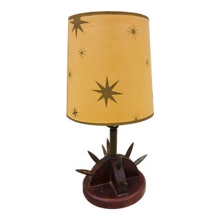 Antique Trench Art Lamp For Sale