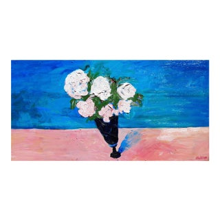 Contemporary Painting, Bouquet of Roses For Sale