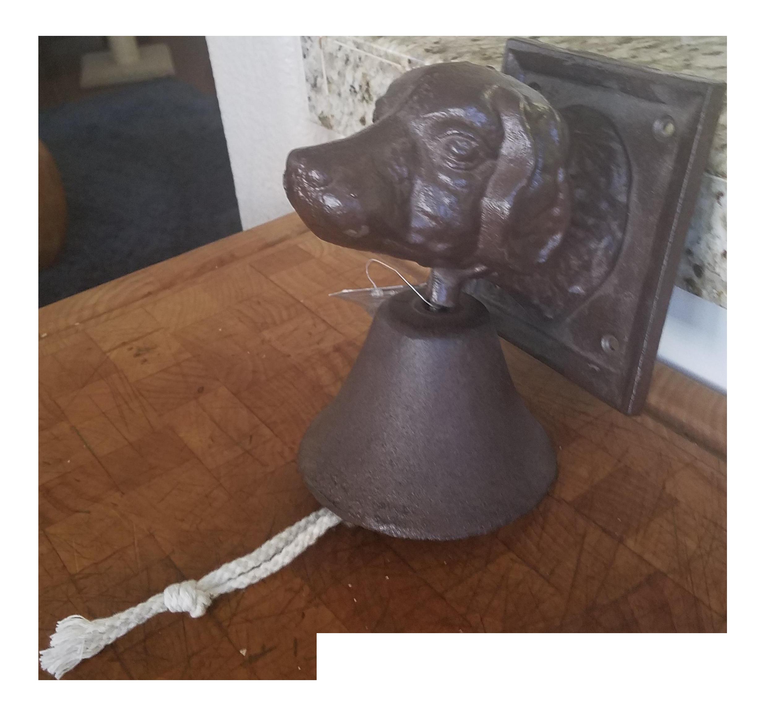 Bronze Labrador Door Ringer  sc 1 st  Chairish & Bronze Labrador Door Ringer   Chairish