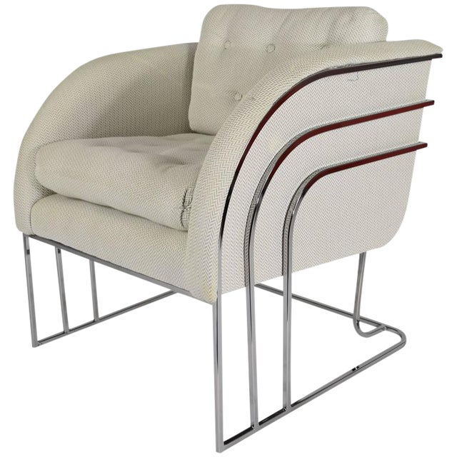 Milo Baughman for Thayer Coggin Lounge Chair For Sale