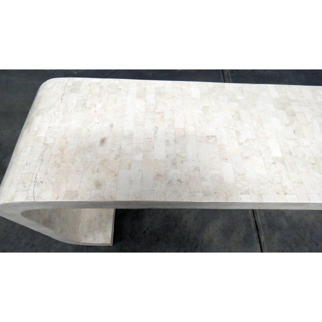Mid 20th Century Mid-Century Modern Tessellated Console Table For Sale - Image 5 of 10