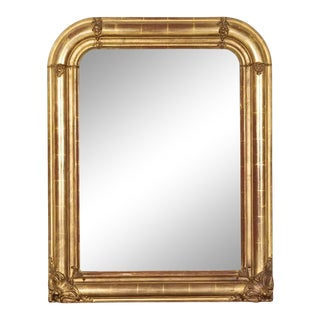 19th Century Louis Philippe Period Giltwood Mirror For Sale