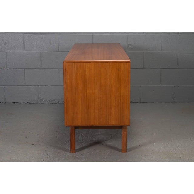 Mid-Century Modern Danish Modern Teak Sideboard For Sale - Image 3 of 10