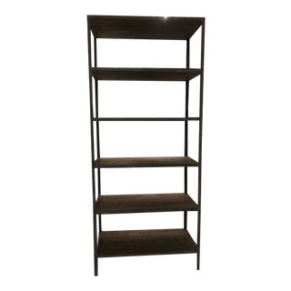 Restoration Hardware Etagere Shelving Unit For Sale