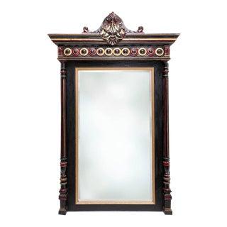 Regency Style Overmantel Mirror For Sale