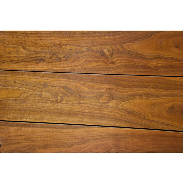 Stanley Walnut and Formica Dresser For Sale - Image 10 of 10