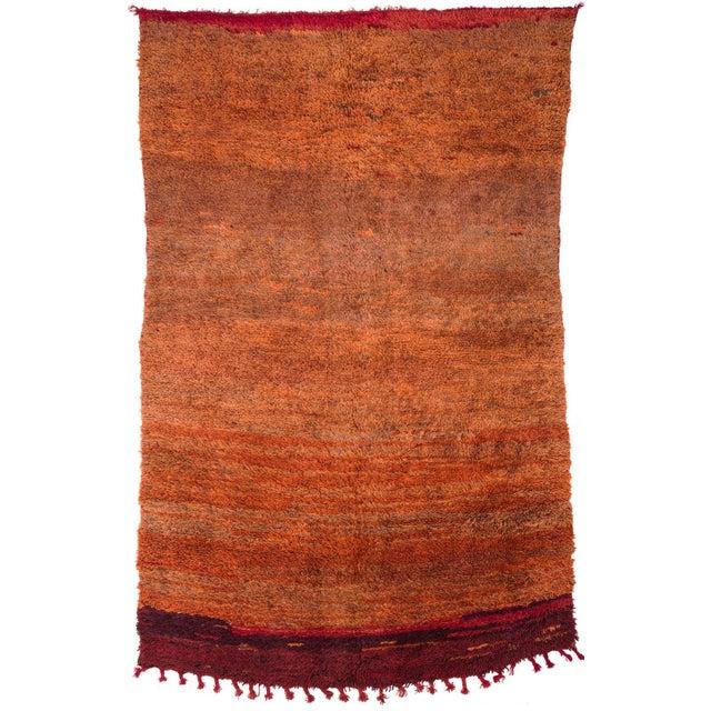 Islamic Vintage Moroccan Mrirt Rug For Sale - Image 3 of 3