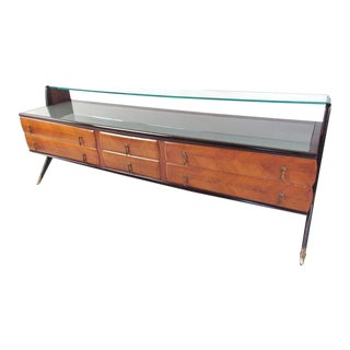 VIntage Modern Italian Sideboard in the Style of Paolo Buffa For Sale