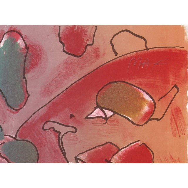 Peter Max - Reflections II Lithograph - Image 2 of 2