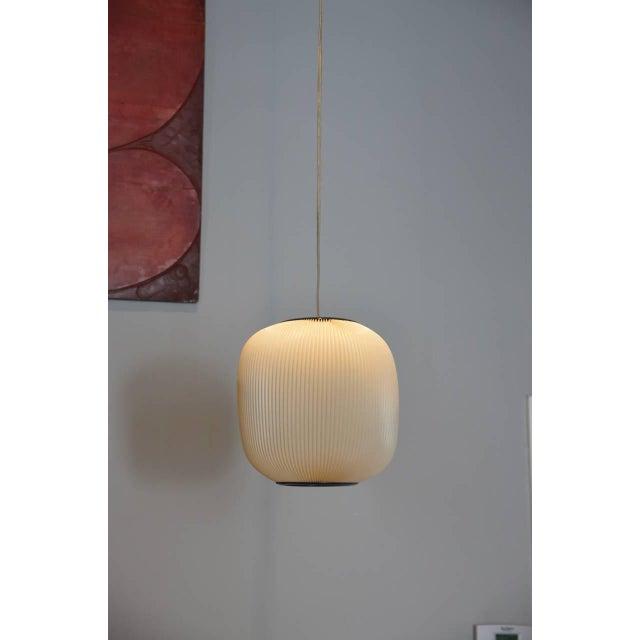 Rispal Lighting 1960s Rispal French Modern Hanging Lantern For Sale - Image 4 of 4