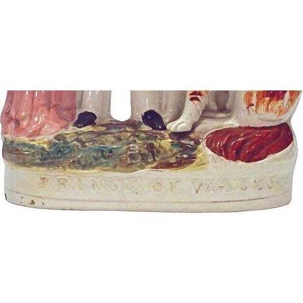Antique Staffordshire Prince of Wales Figurine For Sale - Image 4 of 4