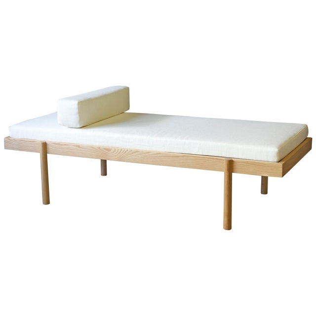 Wc2 Daybed by Ash Nyc in White Oak For Sale - Image 10 of 10