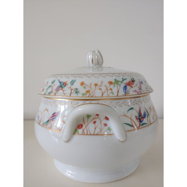 Chinoiserie 1990s Tiffany Audubon Soup Tureen For Sale - Image 3 of 9