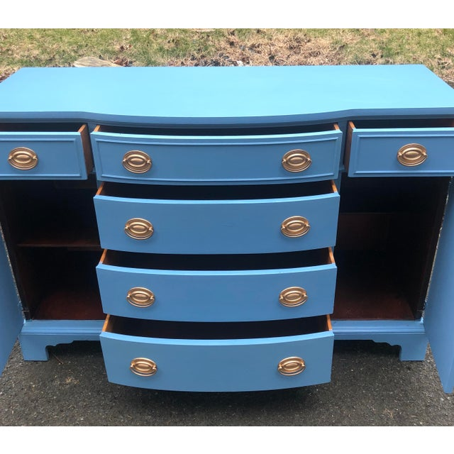 1950's Drexel New Travis Court Server For Sale In New York - Image 6 of 10