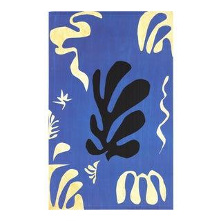 Henri Matisse, Composition Fond Bleu, Offset Lithograph For Sale