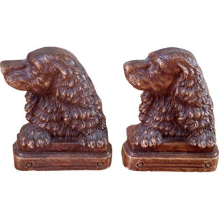 Irish Setter Bookends - A Pair For Sale