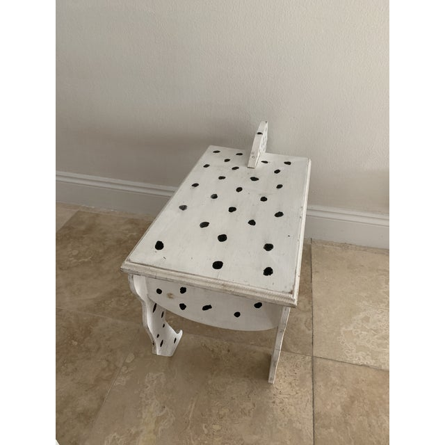1970s Dalmatian Dog Wooden Table - Handmade For Sale In Miami - Image 6 of 13