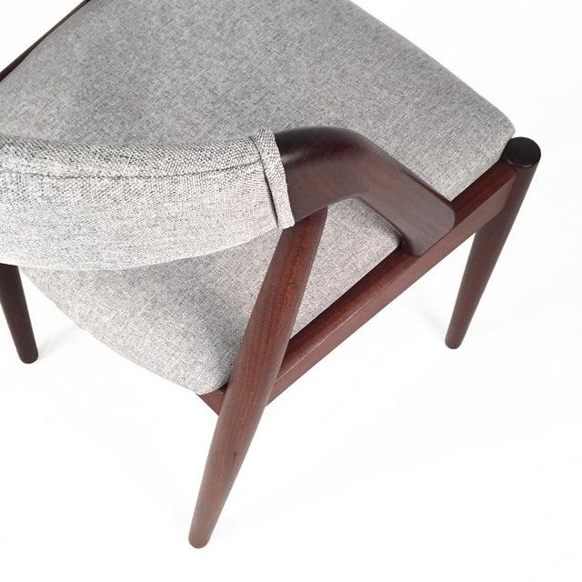 Vintage Danish Kai Kristiansen Model #31 Teak Dining Chairs - Set of 4 - Image 8 of 9